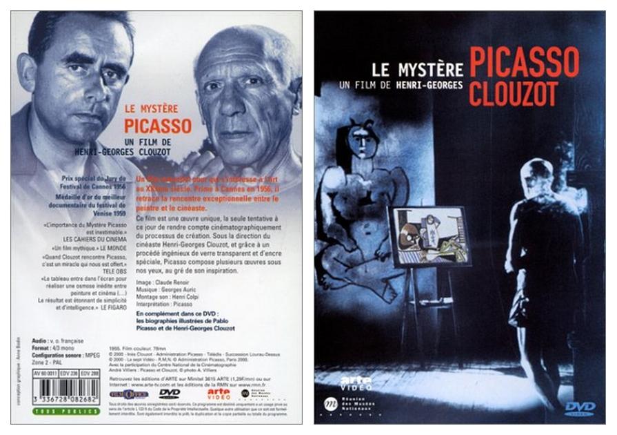 Clouzot films Picasso (Film: Le mystère Picasso – Henri